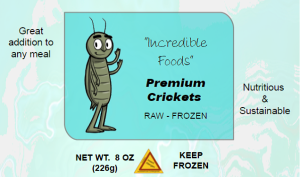 cricket front label frozen warning