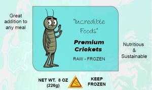 cricket front label frozen warning
