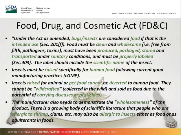 FD&C edible insects 1